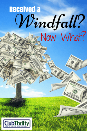 So, you've just received a windfall of money. Should you buy a new house? Should you invest it in the market? Come inside to find out!