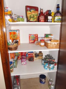 My kitchen pantry.....