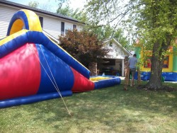 I actually rented this ridiculous thing for a birthday party once.
