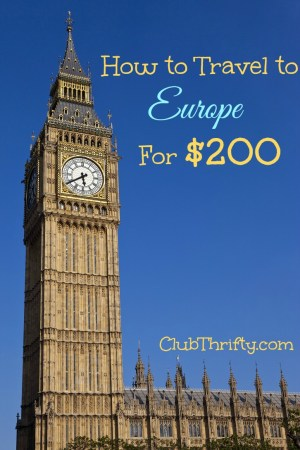 Want to learn how to see Europe for cheap? We made it to London and Paris for $200 with some some credit card rewards strategies that will blow your mind!