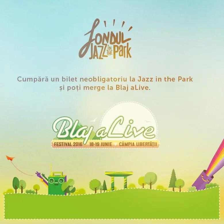 fondul jazz in the park blaj alive