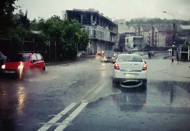 inundatie cluj 3 iulie 2016