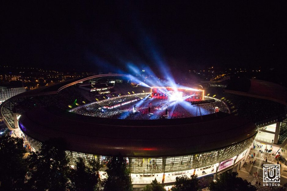 untold stadion cluj arena