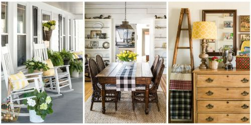 Medium Of Country Homes Design Ideas