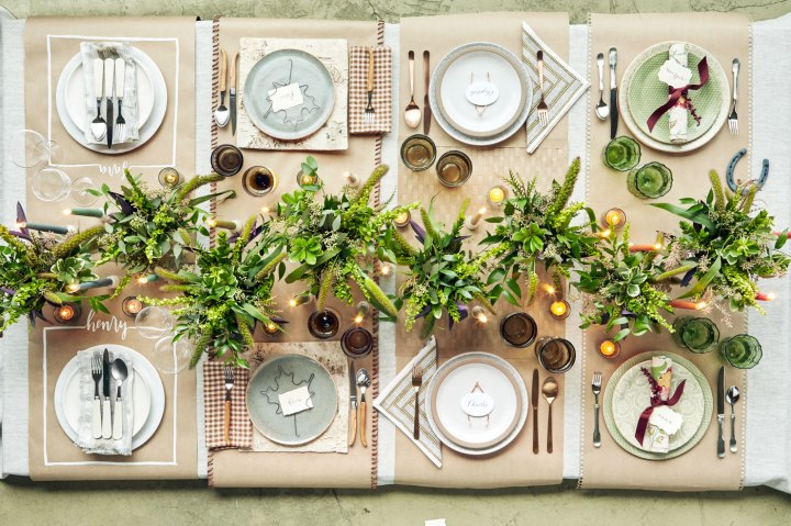 Thanksgiving Table Settings Tablescapes 2016