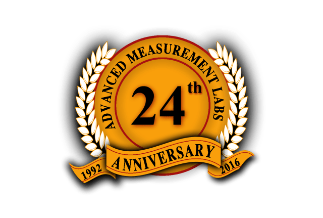 AML 24th Anniversary Seal