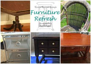 Furniture Refresh May: End Table Refresh