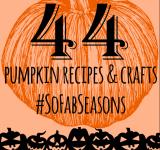 44 Blogger's Pumpkin Ideas: Recipes, Crafts, & Decor