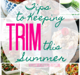 Tips to Keeping Trim this Summer {Merry Monday Link Party #159}