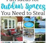 Fun Ideas for Outdoor Spaces You Need to Steal {MM #163}