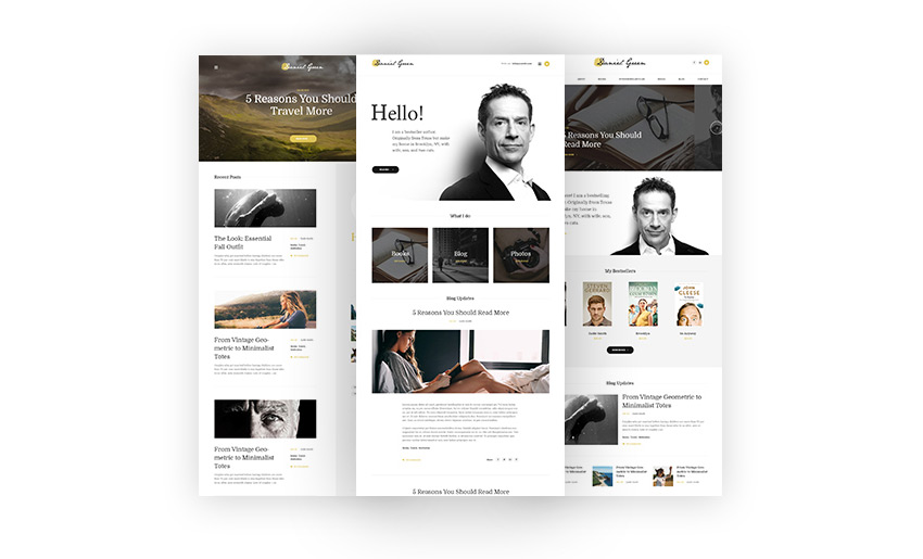 15+ Best WordPress Themes for Writers, Authors, and Pro Bloggers ...