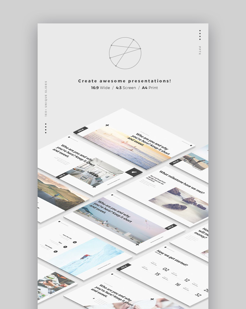 17 best powerpoint template designs for 2017 healthcare web mnml minimal style graphic design powerpoint template alramifo Gallery