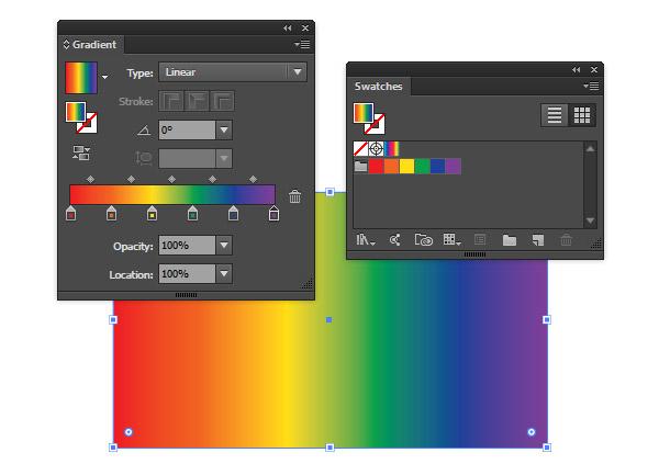 Modified spectrum gradient