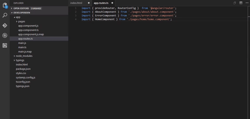 Add imports to approutests