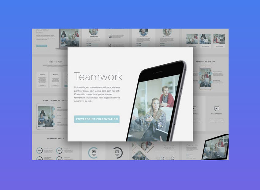 18 cool powerpoint templates to make presentations in 2018 teamwork powerpoint template maxwellsz
