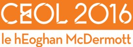 Irish Gaelic Compilation CD: CEOL 2016 le hEoghan McDermott