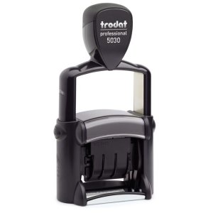 "trodat-5030 Trodat Professional 5030 Custom Self-Inking Stamp (4 mm or 0.15"" high DATE ONLY)"