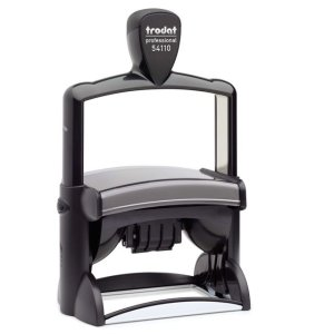 "trodat-54110 Trodat Professional 54110 Custom Self-Inking Stamp (55 x 85 mm or 2-5/32 x 3-5/16"" with date)"