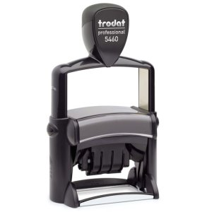 "trodat-5460 Trodat Professional 5460 Custom Self-Inking Stamp (33 x 56 mm or 1-5/16 x 2-1/4"" with date)"
