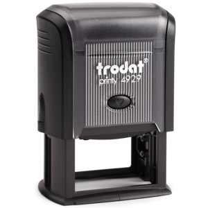 "trodat-printy-4929 Trodat Original Printy 4929 Custom Self-Inking Stamp (30 x 50 mm or 1-3/16 x 2"")"