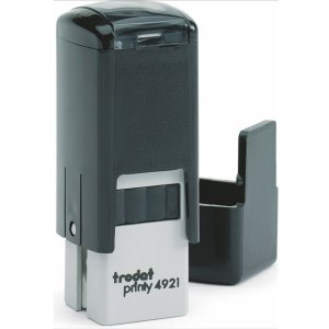 "trodat4921 Trodat Original Printy 4921 Custom Self-Inking Stamp (12 mm or 1/2"" square)"