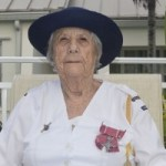 Flags fly at half-mast for Olive Miller