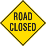 Road closure for Cross Island Relay, 2 Feb