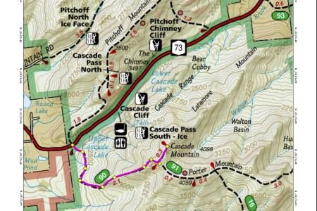 Map Of The Cascade Mountain - Cascade mountains on us map