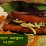 Tempeh Burgers. Vegan and Gluten Free