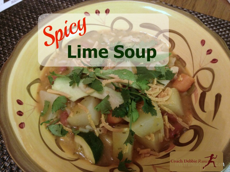"""This """"Sopa de Lima,"""" or spicy Lime Soup is delicious and great for warming you up on a cold evening."""