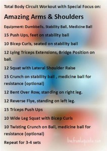 Functional Workout for Amazing Arms and Shoulders!