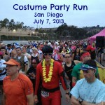 Race Report: The Costume Party Run. Mission Accomplished (almost)