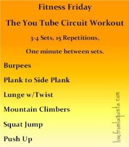 You Tube Workout