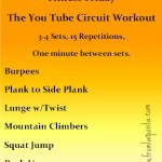 A Friday Workout. Plus I'm a Featured Fit Friend!