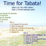 Time for Tabata!!!