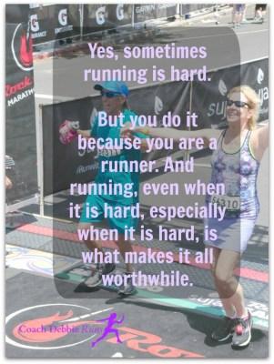 Running is hard 5