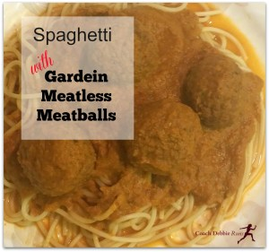 Meatless Monday: Spaghetti with Gardein Meatless Meatballs