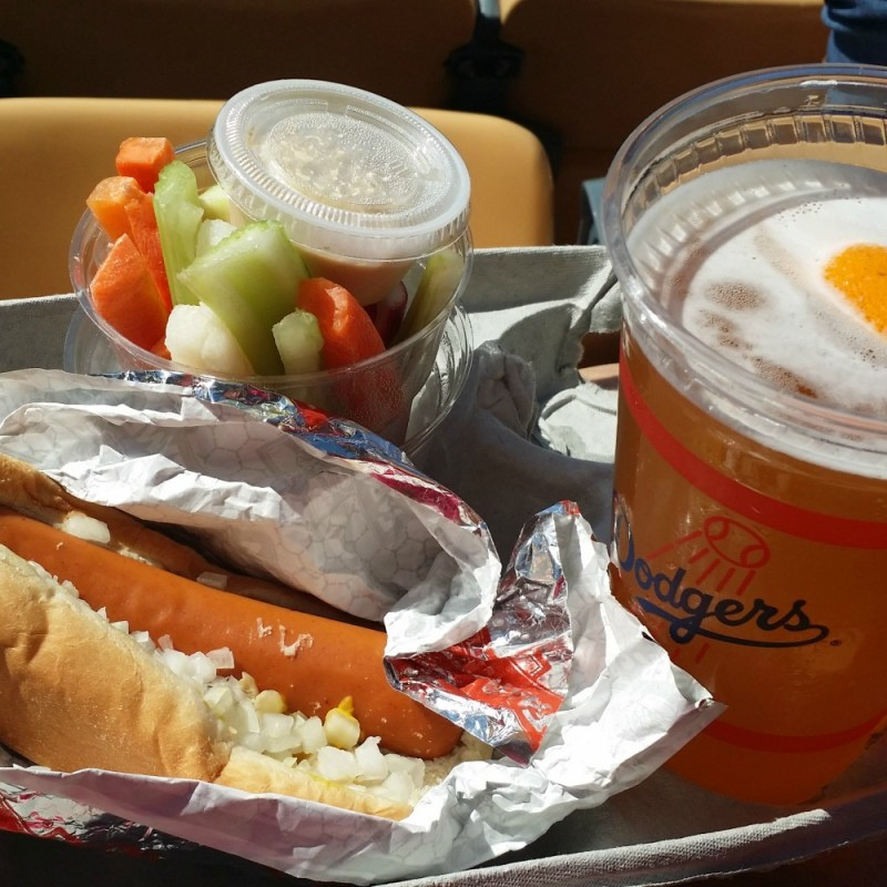 Vegan at Dodger Stadium