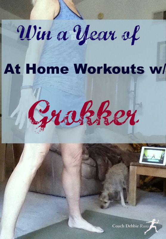 Enter to win a free one year membership to Grokker! All kinds of home workouts from yoga, stretching, and meditation, to HIIT, Body Conditioning, and even cooking!