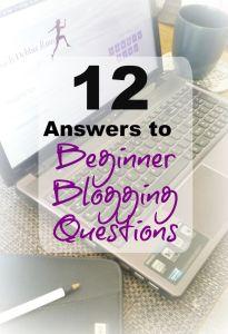Beginner Blogging Questions