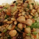 Middle Eastern Balela Salad. California Style