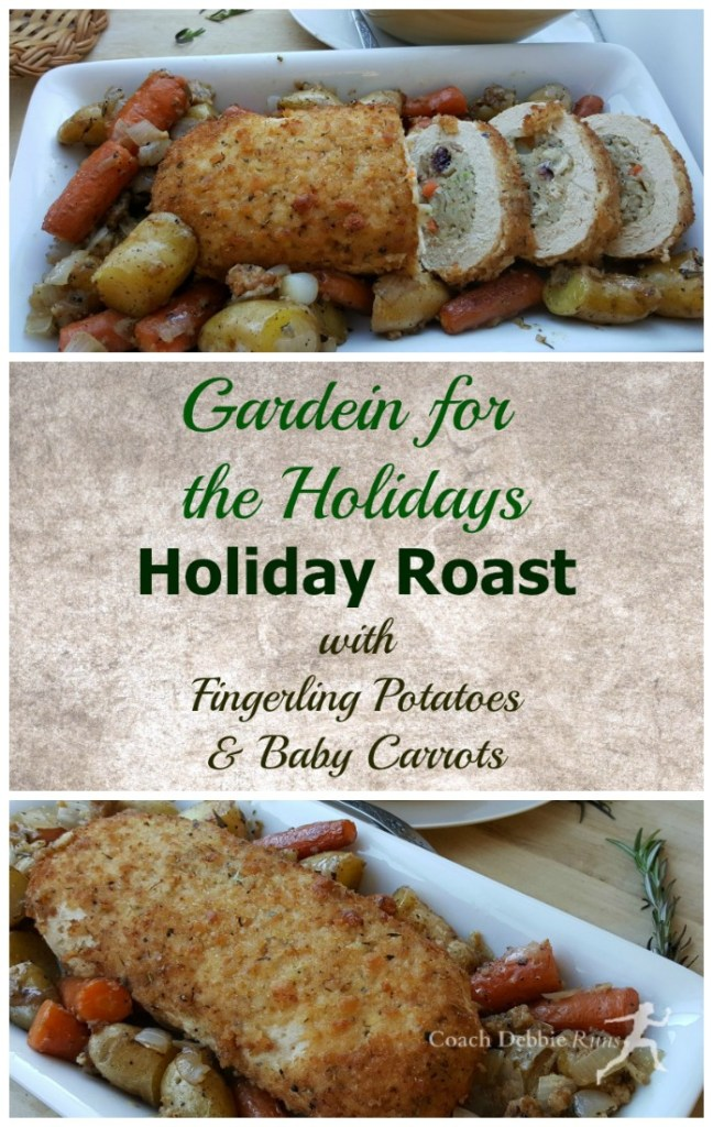 Make the holidays easy, delicious, and plant-based with Gardein! Jazz up the Holiday Roast with some baby carrots and fingerling potatoes and you've got an entree that everyone will love. #OMGardein #ad