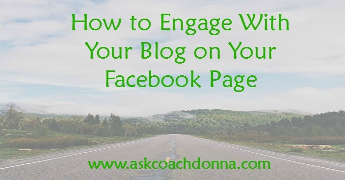 engaging your Facebook page