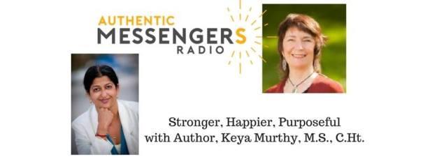 Keya and Catherine on Authentic Messenger's radio