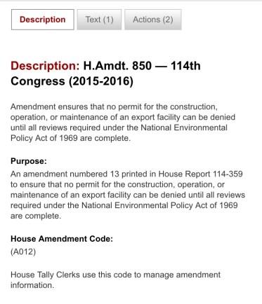 amendment 850