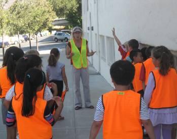 2nd Grade Walk Hope School 9-2013