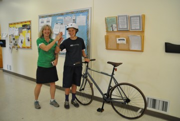 B2SD 2014 La Colina Bike Winner