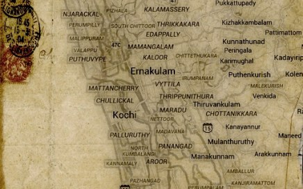 Map of Cochin