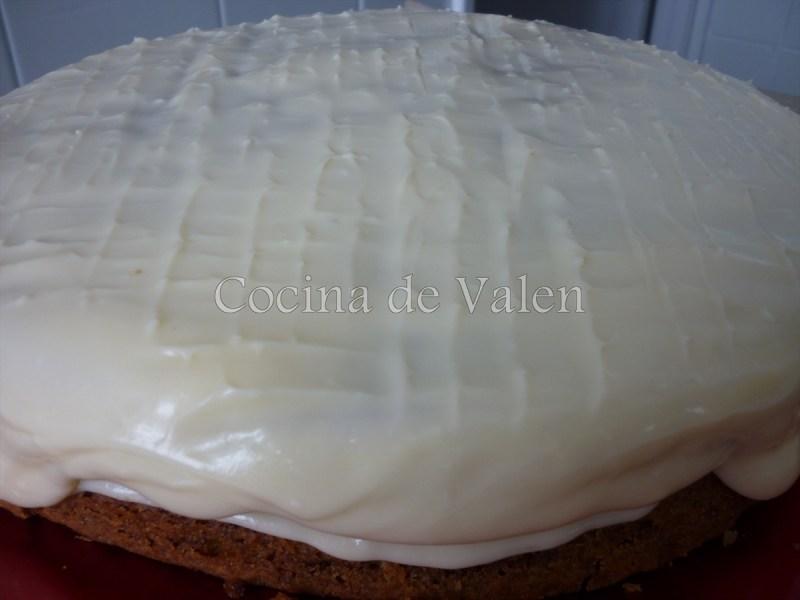 Torta de Zanahorias con frossting de Queso Crema - Cocina de Valen