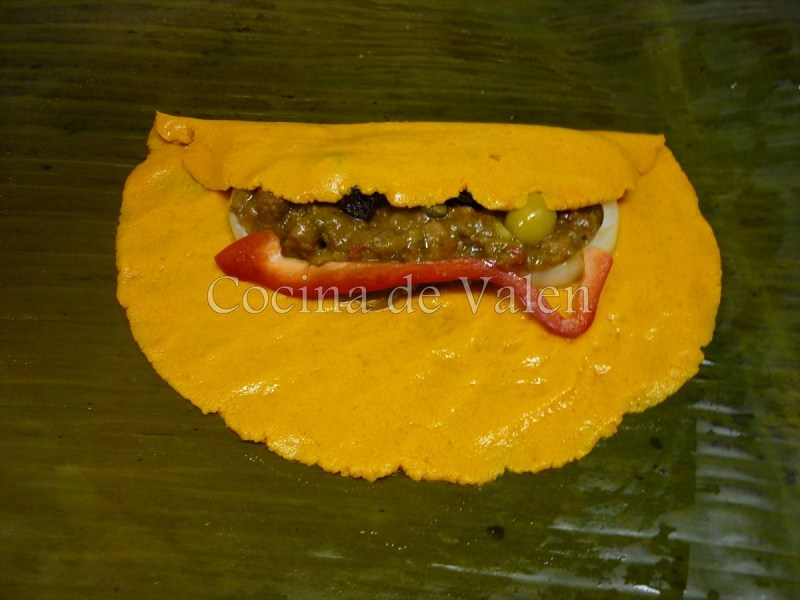 Elaboración de las hallacas paso a paso - Cocina de Valen